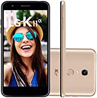 TELEFONE CELULAR LMX410BTW.ABRAKG K11 ALPHA 16 GB DOURADO + CARTAO 16GB, LG, LMX410BTW, 16 GB, 5.3'', Dourado