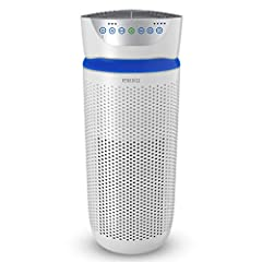 BREATHE CLEAN: Being stuck inside doesn't mean you can't have fresh air. Breathe easy while 360-degree True HEPA filtration removes up to 99.9% of airborne allergens as small as 0.3 microns. A built-in carbon filter reduces odor and VOC's and freshen...