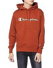 [チャンピオン] パーカー トレーナー 裏毛 長袖 綿100% 定番 スクリプトロゴプリントフーデッドスウェットシャツ C3-Q102 メンズ