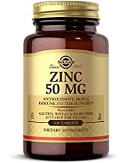 Solgar – Zinc 50 mg