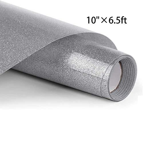 Glitter Heat Transfer Vinyl Rolls, 10