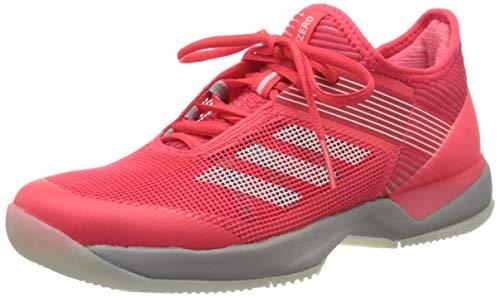 adidas Adizero Ubersonic 3 Allcourtschuh Damen-Koralle, Grau, Zapatillas de Tenis Mujer, Gris, 42 EU ✅