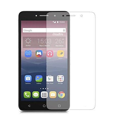 Sunrive para Alcatel Pixi 4 6,0 Pulgadas 3G 8050D, Protector de Pantalla de Cristal Templado Ultra-Clear con 9H dureza y fácil instalación
