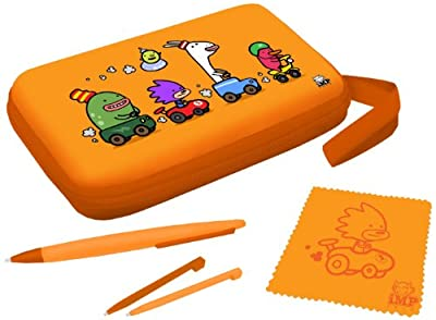 iMP Funkit5 Moto 5-in-1 XL Accessory Kit - Orange (3DS XL / DSi XL)