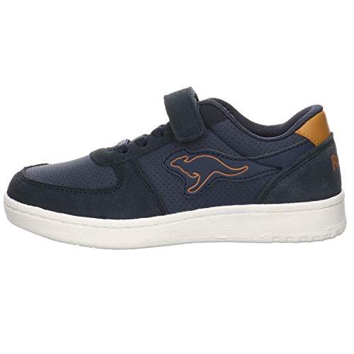 KangaROOS Low ROOSkickx Easy - Zapatillas unisex para niños, color Azul, talla 34 EU
