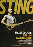 Sting - 57th & 9th, Berlin 2016 » Konzertplakat/Premium