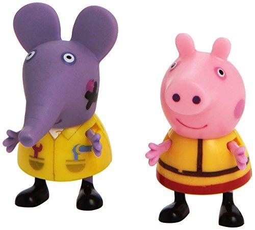 Giochi Preziosi - 4905 - 2 Figurines - Peppa Pig - 5 cm - Modèle Aléatoire