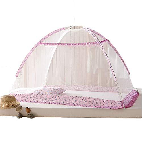XINYANG Pliage portatif de lit de bébé de lit de bébé de lit de Voyage Se Pliant portatif,Pink,M