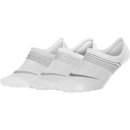 Nike SX5277-010 Nylon W NK Perf LTWT Foot 3PR, S, (Black/White)
