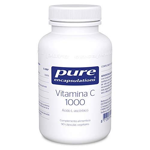 Pure Encapsulations - Vitamina C 1000 94g - Alta Dosificaci�