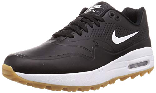 Nike Herren Air Max 1 G Golfschuhe, Schwarz (Negro/Blanco 001), 46 EU