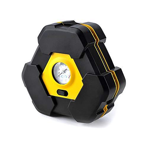 inChengGouFouX Bomba de Aire Portátil Digital de Neumáticos Digital inflador 12 V CC del Cigarrillo luz de la Bomba del Enchufe del alumbrador portátil de Aire de 100 PSI Aparatos Domésticos