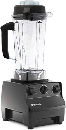 Vitamix 5200 Blender Professional-Grade, Self-Cleaning 64 oz Container, BROAGE 6 Colors Microfiber Cleaning Cloths (Black)
