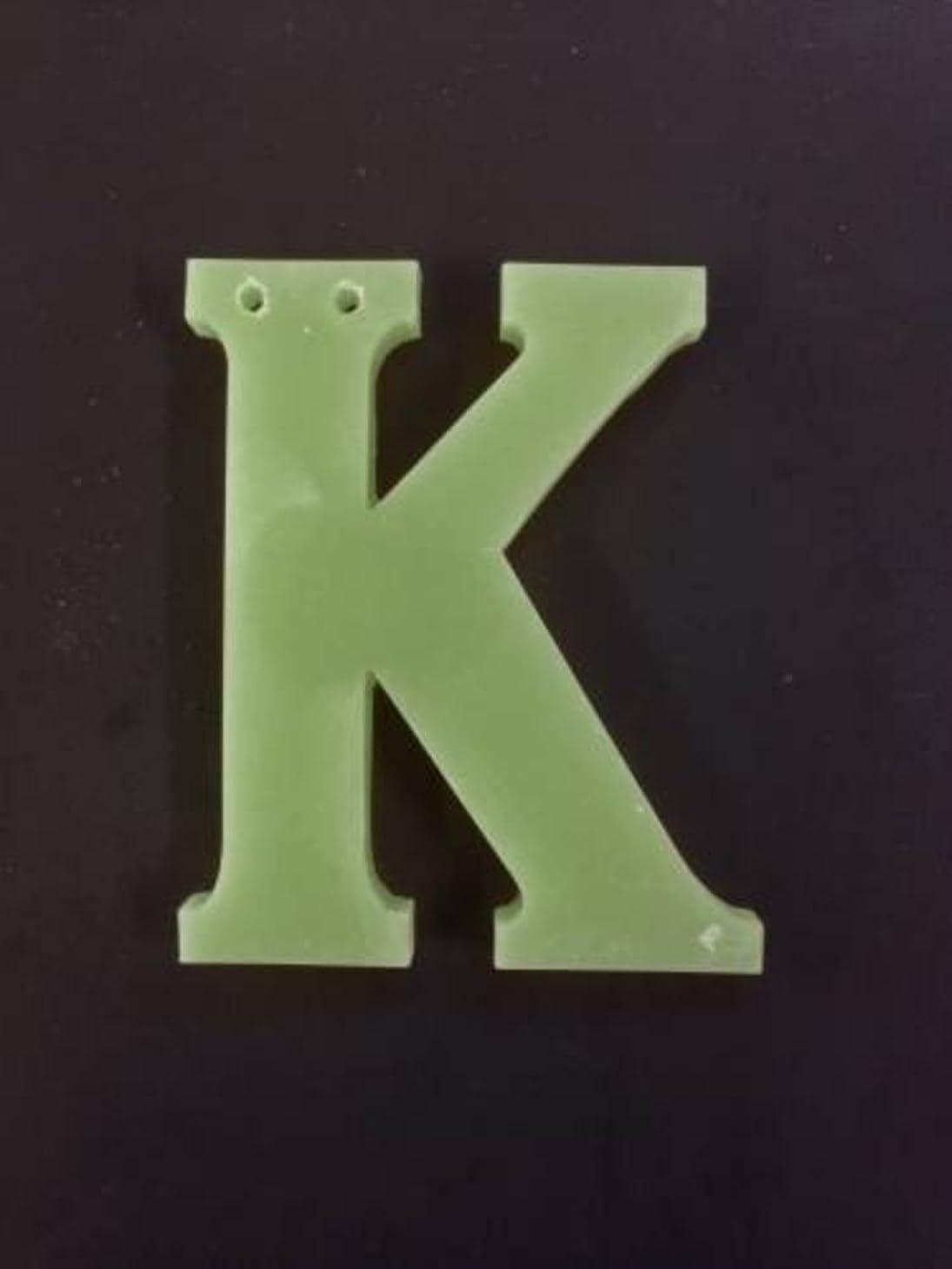 先見の明着る壊すGRASSE TOKYO AROMATICWAXチャーム「K」(GR) レモングラス アロマティックワックス グラーストウキョウ