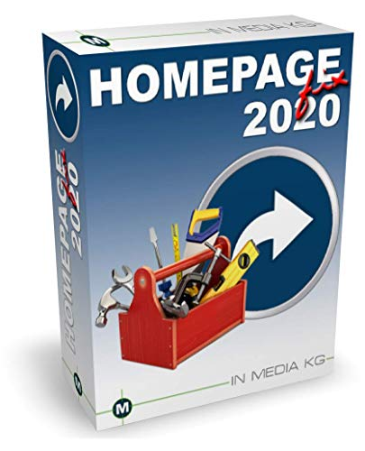 Bester der welt HomepageFIX 2020 – Webdesign-Software für Anfänger und Profis ohne HTML-Kenntnisse -…