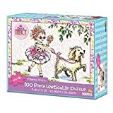 Fancy Nancy 100-Piece Lenticular Puzzle - Frenchy Frolic by Briarpatch