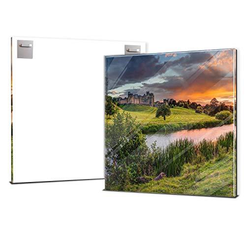 wandmotiv24 Ihr Foto auf Acrylglas 50 x 50 cm (BxH) - Quadratisch - Acrylglas SOFORT ONLINE VORSCHAU, personalisiertes Wandbild, Acrylbild, Glas Bild gestalten, personalisierte Foto-Geschenke