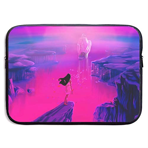 Pocahontas Laptop Sleeve Bag Case,Waterproof and Foldable Laptop Briefcase Neoprene Soft Carring Tablet Travel Case,13 inch
