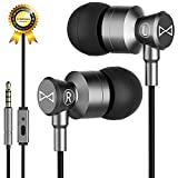 Marsno Earbuds, in Ear Earphones Headphones with Microphone,in-Line...