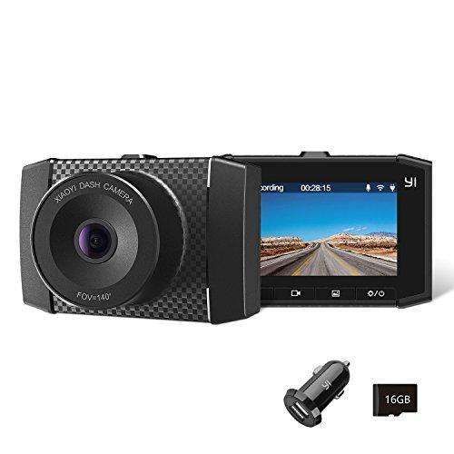 YI 2.7K Ultra Dash Cam con Schermo LCD da 2,7 Pollici, Processore Dual Core, Controllo Vocale,Sensore MEMS-G a 3 Assi e Visione Notturna