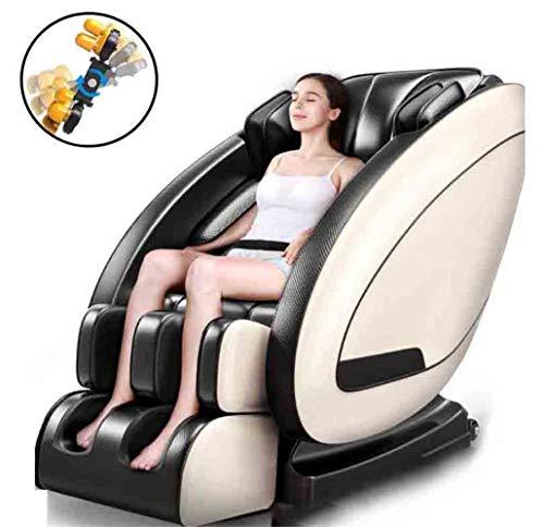 CSPFAIZA Massagesessel Multifunktional Elektrisches Sofa mit Wärmefunktion und LCD-Smart-Großbildfernbedienung