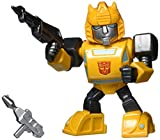 Transformers G1 Bumblebee Light-Up 4' Die-cast Metal Collectible Figure, Toys for Kids and Adults