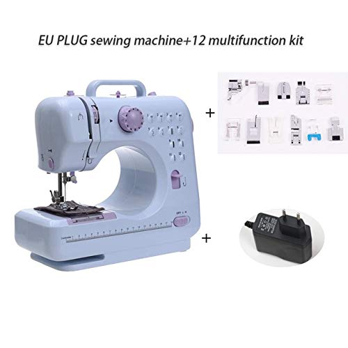 Review Of GM_QY Mini Electric Sewing Machine Fanghua 505 Sew Manual Portable Assistant New Home Elec...