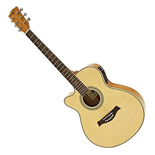 Guitarra Electroacustica Single Cutaway Zurda de Gear4music
