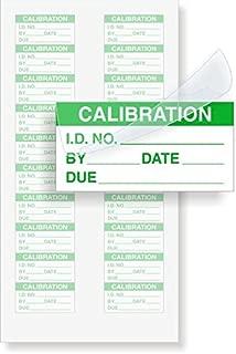 SmartSign Mini Self-Laminating Calibration Labels | 200 Labels/Pack, 0.5