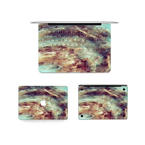 Sticker Vinyl Laptop Notebook Skin Texture Pattern Decal for Macbook Pro 13' 15' 12' Air M1A2337 A2338 A2179 A2251 A1466 A1932-3 in 1-Air13 A1932 A2179