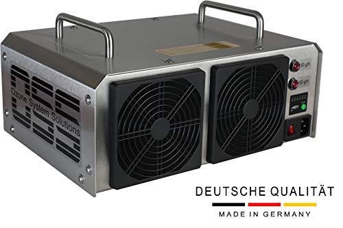 OSS Sixty O³ | generatore di ozono con 60000 mg/h o 60 g/h di ozono in uscita | MADE IN GERMANIA | supporto telefonico | generatori di ozono OSS rimuovono odori, batteri e virus