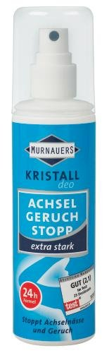 MURNAUERS Mineral Achsel Geruch Stopp Deo Spray, 100 ml Lösung