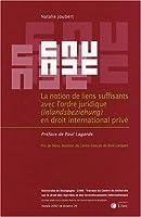 La notion de liens suffisants avec l'ordre juridique (inlandsbeziehung) en droit international prive