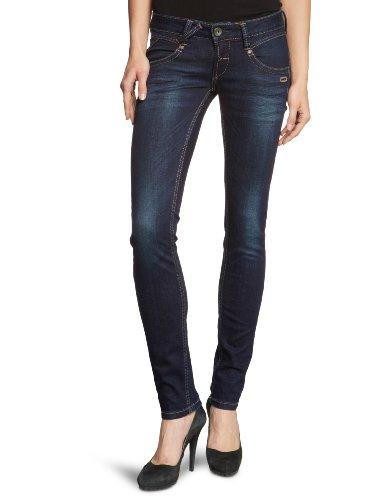 Gang Damen NENA - Blue Power Stretch Jeans, Blau (2311/dark Indigo Used), W28/L32