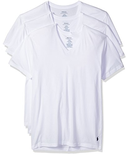 Our #7 Pick is the Polo Ralph Lauren Men's Classic V-Neck Undershirts