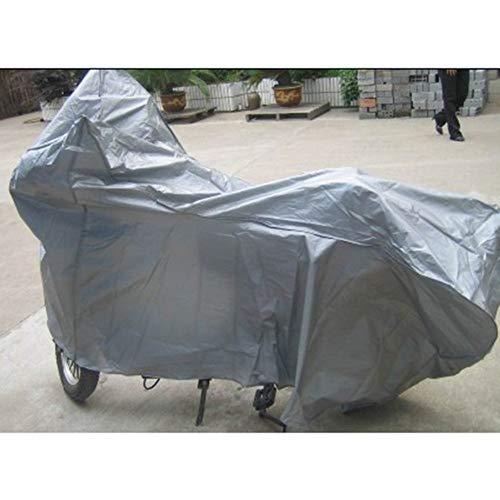 XJRHB Motorradabdeckungen Einzelne Anti-Vibrations-PEVA Regen Und Sonne Motorrad Kopf Wanten Verkleidung (Size : XL)