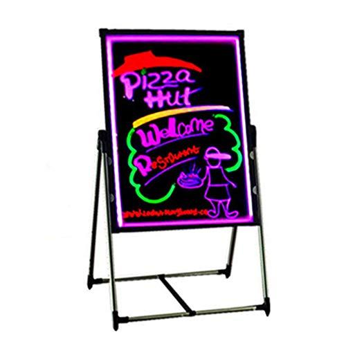 HO-TBO Bacheche messaggi e insegne Bordo di Messaggio Principale Illuminato Luce Dry Erase Board Disegno Pittura Consiglio Doodle tavolette grafiche Banco di Mostra attività