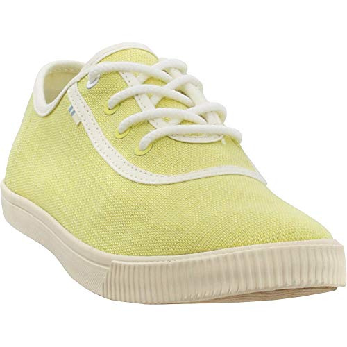 TOMS Women's Carmel Sneaker, Size: 5.5 B(M) US, Color: Sunshine Hrtg Canvas