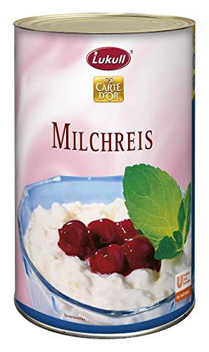 Lukull Milchreis (cremig, dezenter Vanille Geschmack) 1er Pack (1 x 1,95 kg)