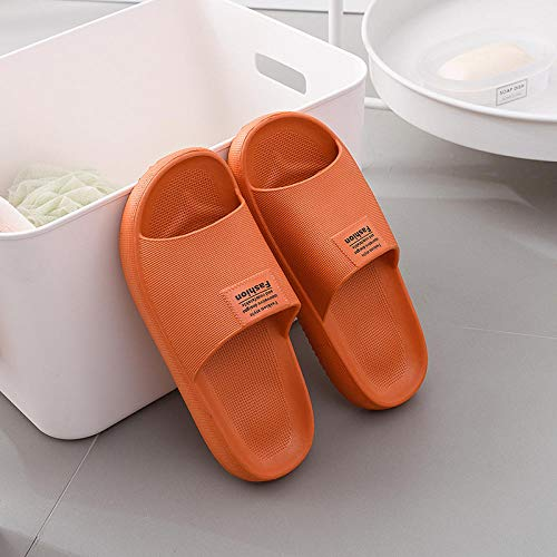 TDYSDYN Zapatillas de Masaje Mujeres,Zapatillas de baño de Secado rápido, Sandalias con Suela Gruesa-Color Caramelo_38/39