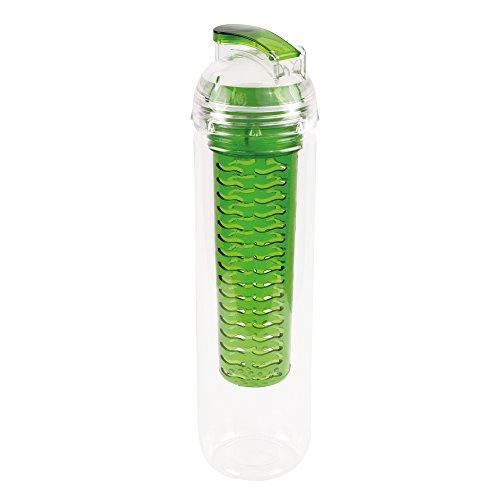 melianda Bouteille Sport Gourde, Mixte, Sporttrinkflasche, Vert, 800 ML