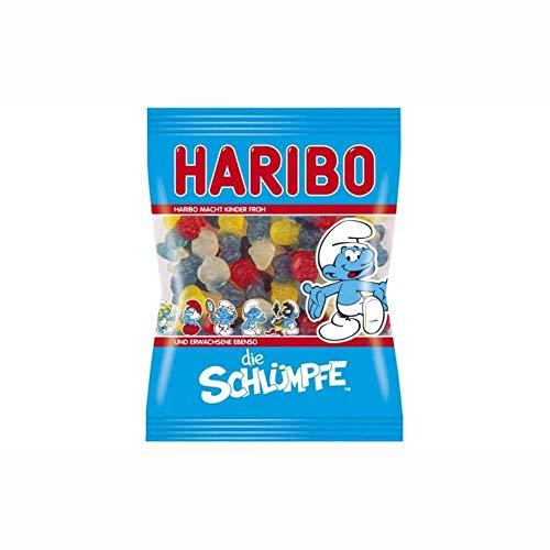 Haribo Schtroumpfs, Bonbons, Bonbons Gélifiés, Bonbons Fruités, Végétarien, en Sachet, Paquet, 200 g