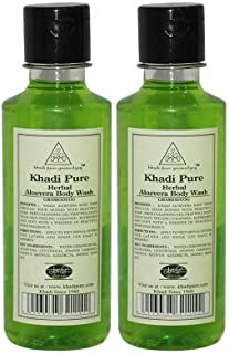 Khadi Pure Herbal Aloevera Body Wash - 210 ml (Set Of 2)