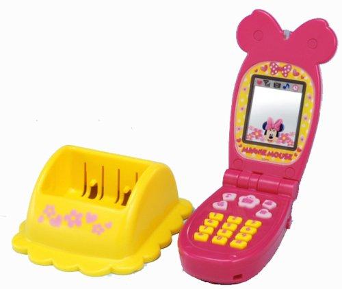 Disney fan fan time Minnie shopping mobile phone (japan import)