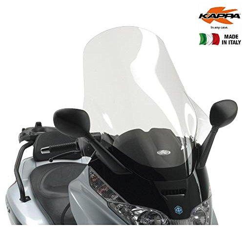 Windschutzscheibe transparent 80 x 60 cm (H x L) Kappa KD500ST Piaggio X8 125-150-200-250-400 (04 > 10) Piaggio X-Evo 125-250-400 (07 > 11)