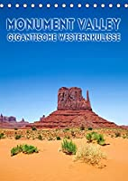 MONUMENT VALLEY Gigantische Westernkulisse (Tischkalender 2022 DIN A5 hoch): Fantastische Landschaft im Suedwesten der USA (Monatskalender, 14 Seiten )