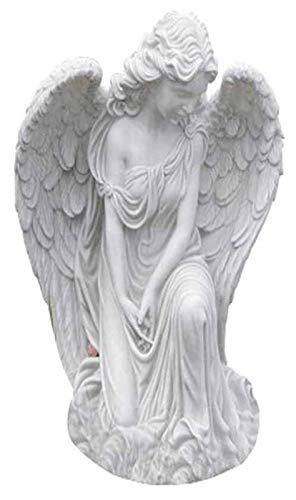 HongLianRiven maniquíes Garden Angel Statue, Angel Sculpture Model with Wings Angel Hogar Goddess Crafts Oring Angel Artwork Decoración de jardín