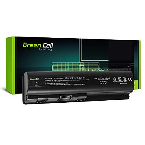 Green Cell® Standard Serie HSTNN-LB72 / HSTNN-IB72 Laptop Akku für HP G50 G51 G60 G61 G70 G71 HP Pavilion DV4 DV5 DV6 DV6T (6 Zellen 4400mAh 10.8V Schwarz)