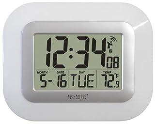 La Crosse Technology WT-8005U-W Atomic Digital Wall Clock (B002VRUN2U)   Amazon price tracker / tracking, Amazon price history charts, Amazon price watches, Amazon price drop alerts
