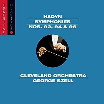 Haydn: Symphonies Nos. 92, 94, & 96